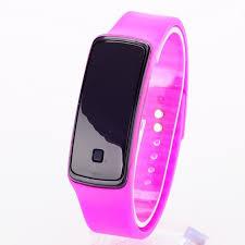 New <b>Silicone Watchband</b> Women Men LED Digital <b>Screen</b> Watch ...