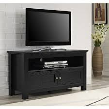 Tv Stand Black Amazoncom Walker Edison 44 Inches Cortez Tv Stand Console Black