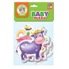 Интернет-магазин <b>Мягкие пазлы Baby puzzle</b> Vladi Toys Ферма ...