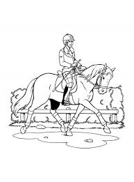Geweldige Kleurplaten Paarden Dressuur Krijg Duizenden