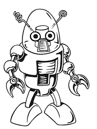 Small Picture Mr Incredible Robot Coloring Pages Coloring Coloring Pages