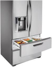 lg refrigerator 4 door. lg lmx28987st 27.6 cu.ft. french 4-door refrigerator with auto-opening freezer door finish : stainless steel 4 t