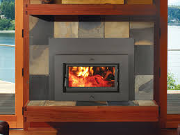 33 elite flush wood plus rectangular wood fireplace insert