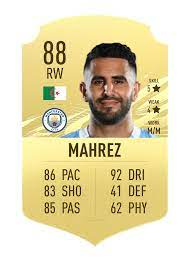 be sincery, do you think Riyad Mahrez deserves this overall and these stats  or he deserve less? : FIFA
