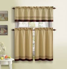 Kitchen Tier Curtains Sets 2 Tier Kitchen Curtain Decorate Our Home With Beautiful Curtains