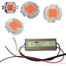 full spectrum cob led s for grow lights high power 10w 30w 50w 100w 380nm 840nm diy plant grow lights kit epistar 35mil 45mil fluorescent grow lights