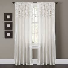 white curtain panels. Outstanding Curtain Panels Amazon Com Lush Decor Circle Dream Window White M
