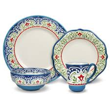 Patterned Dinnerware Sets Magnificent Decorating