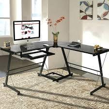 computer desks office depot. Office Depot Glass Computer Desk L Shaped Shape Laptop Table Workstation Corner Top Desks I