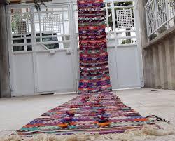 attractive extra long runner rug for hallway shining 26 foot vintage narrow handmade