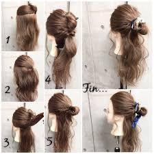 ハーフアップからまとめ髪までミディアムヘアにおすすめのくるりんぱ