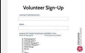 Toolbox Volunteer Forms 1 Grenadine Event Management Software