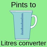 Litres To Pints Conversion Chart Pints To Litres Converter