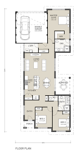 luxury narrow lot house plans with rear garage inspiring endear single y for home designs