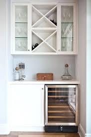 white wine rack cabinet. Kitchen Wine Rack Cabinet Lovely Minibar Station With Bar Fridge And Storage White K
