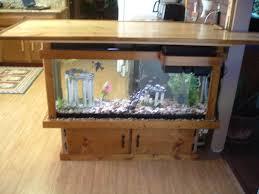 Fish Tank Coffee Table Uk Wooden Fish Tank Coffee Table Saltwater Aquarium Pinterest