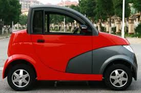 e car with a 5kw electric motor