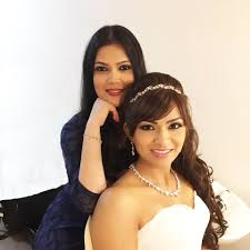 i believe that behind every ravishing and beautiful bride is a makeup artist who has primped dusted and glossed every inch of the canvas that is the face