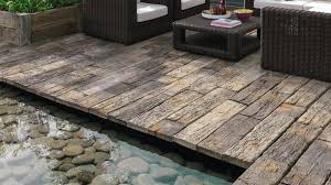 woodstone wood effect paving slabs