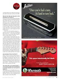 Warmoth Color Chart Guitar Player October 2018 Usa Pages 51 100 Text