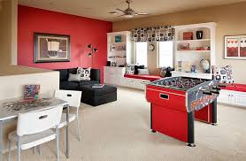 rec room furniture and games. View In Gallery Contemporary Attic Game Room Idea Rec Furniture And Games L