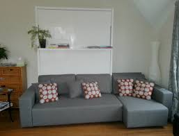 Kitsilano, Vancouver  Sectional couch Wall bed install