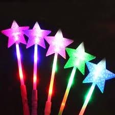 Led Christmas Light Sticks Star Led Light Sticks Flashing Battery Powered Christmas Festivals Decor Kid Toy