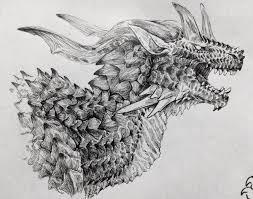 ドラゴンのイラストだけで興味を持ってくれる方へ届け Hashtag On Twitter