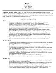 Example Resume Formats 100 Images Free Resume Samples Online