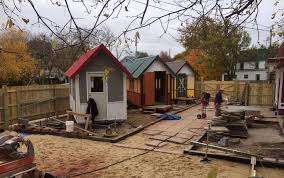 tiny house community for homeless. Contemporary Homeless Madison Tiny House Village For The Homeless And Community For U
