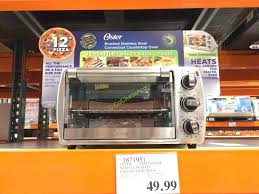 oster toaster oven costco 6 slice convection oven oster stainless steel toaster oven costco
