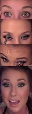 makeup tutorials for green eyes smokey cat eye tutorial easy eyeshadow video and tutorial