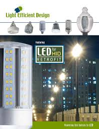 Light Efficient Design Led 8039e57 A Led 2016 Catalog 070716 Lr By Light Efficient Design Issuu