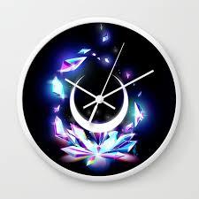 Dark Moon Designs Dark Moon Ginzuishou Wall Clock