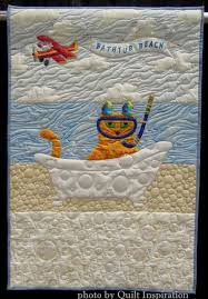 88 best World Quilt Show - Florida images on Pinterest | Florida ... & Bathtub Beach by Sandi MacMillan (Florida). Cat face pattern by Sheila  Haynes Rauen Adamdwight.com