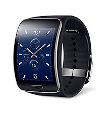 samsung smartwatch. samsung galaxy gear s r750w smart watch with curved super amoled display (black) smartwatch i