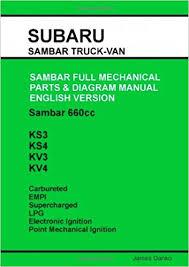 subaru sambar english parts diagram manual james danko subaru sambar english parts diagram manual paperback 29 2009