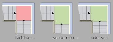 (a) zweiläufig gewinkelte treppe mit zwischenpodest; Grundriss Podesttreppen Treppenmeister