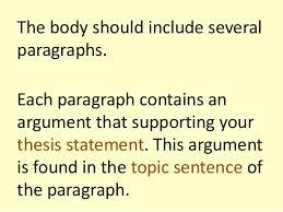 argumentative essay structure 5