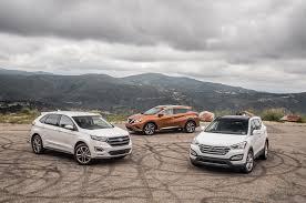 Comparison 2015 Ford Edge Vs Nissan Murano Vs Hyundai