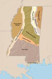 The Geography Of Mississippi Mississippi History Now