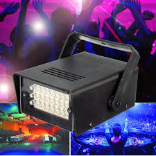 haunted house lighting. mini 10w strobe light 24 led stage for dj disco haunted house xmas party lamp lighting