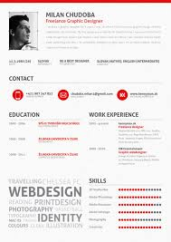 Awesome Resume Examples Fascinating Graphic Design Resume Best Practices And 28 Examples