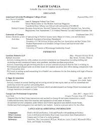 Associate Attorney Resume Sample