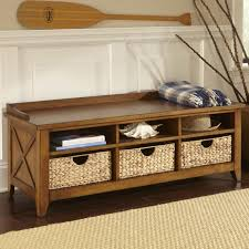 Storage Benches For Living Room Contemporary Entryway Storage Bench Without Pillows Near Potted