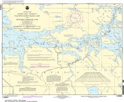 How To Read Navigation Charts Noaa Nautical Chart 14994 Namakan Lake Western Part And Kabetogama Lake Eastern Part