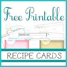 printable blank recipe cards recipe card protectors blank cards free printable adamdavis co