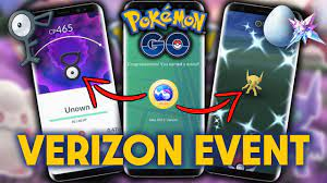 VERIZON SPECIAL WEEKEND EVENT in POKEMON GO | Event Details & How to get  the TICKET?! - YouTube