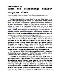 what the relationship between drugs and crime university social page 1 zoom in