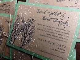 Winter Wedding Save The Date Winter Wedding Save The Date Card Snow Save The Date Winter Etsy